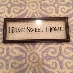 "Other - ""Home Sweet Home"" Shadow Box"